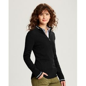 Cutter & Buck Ladies Lakemont Tipped Half Zip