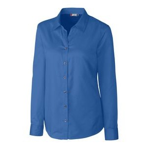 L/S Avesta Lady Stain Resistant Twill